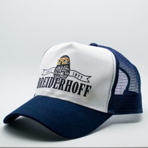 Breiderhoff Trucker Cap Blue Side
